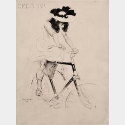 Jacques Villon (French, 1875-1963)      René a bicyclette