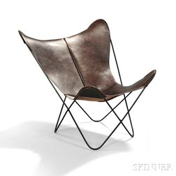 Jorge Ferrari Hardoy Butterfly or BKF Chair