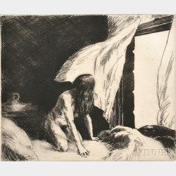 Edward Hopper (American, 1882-1967)      Evening Wind
