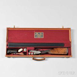 James Purdey 12 Gauge Lightweight Double-barrel Game Gun in Maker's Case