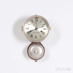 Seth Thomas Ship's Bell Wall Clock