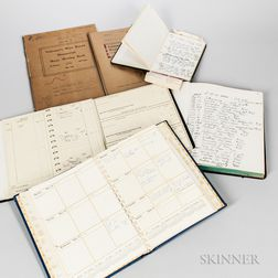 J. Geils's Personal Notebooks