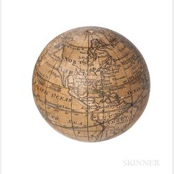 Nicholas Lane 2 3/4-inch Pocket Globe
