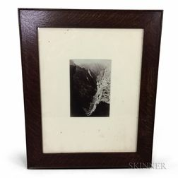 Framed William Henry Jackson Albumen Print of Black Canyon, Colorado