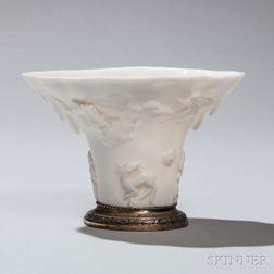 Dehua White Porcelain Libation Cup