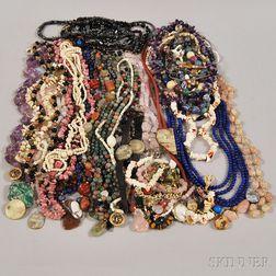 Group of Beaded Jewelry