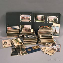 Collection of Miscellaneous Mostly Early 20th Century Postcards