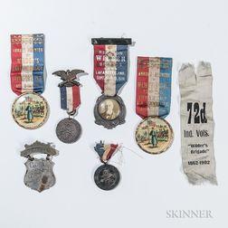 Group of Wilder's Brigade Veteran's Medals