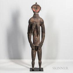 Washkuk Female Figure,