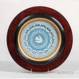 Wedgwood Light Blue Jasper Dip Trophy Plate