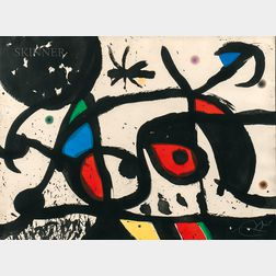 Joan Miró (Spanish, 1893-1983)      Charivari