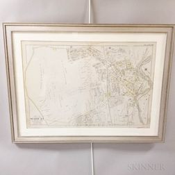Framed Map of Dorchester