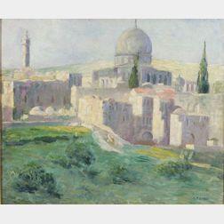 Caleb Arnold Slade (American, 1882-1961)    Arab City