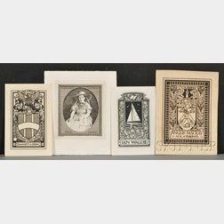 (Bookplates, Examples and Related Study Material)