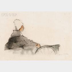 Jacques Villon (French, 1875-1963)      La Normande