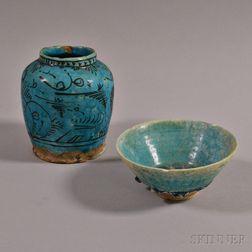 Two Persian Ceramics