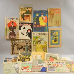 Twenty-three Colored Magazine Prints