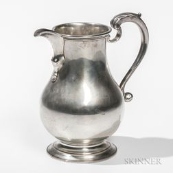 Becht & Hartl Sterling Silver Pitcher