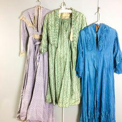 Three Victorian Dresses