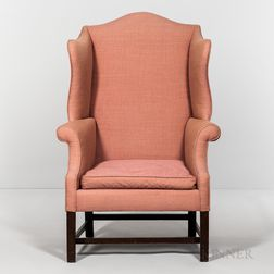 Mahogany Easy Chair