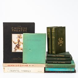 Group of Chinese Art Reference Books