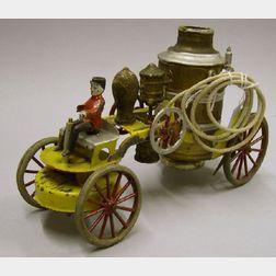 Wilkins Painted Steel Fire Pumper