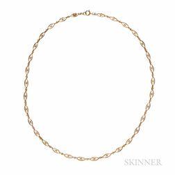 22kt Gold Filigree Chain