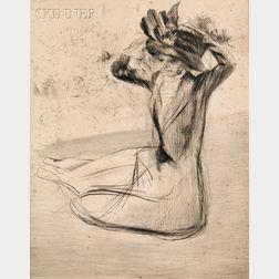 Jacques Villon (French, 1875-1963)      L'Épingle à chapeau