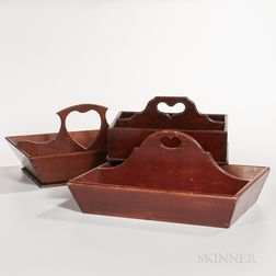 Three Heart-handle Cutlery Boxes