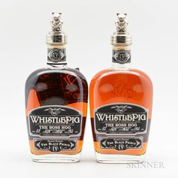 Whistle Pig Boss Hog #IV, 2 bottles