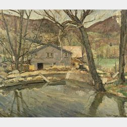 Herbert Meyer (American, 1882-1960)  Marvin's Mill