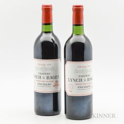 Chateau Lynch Bages 1982, 2 bottles