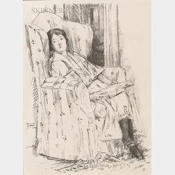 Childe Hassam (American, 1859-1935)      Déshabillé