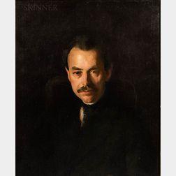 Margaret F. Richardson (American, 1881-1945)      Portrait of a Gentleman