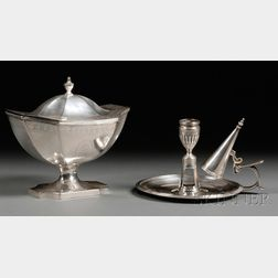 Two George III Silver Tableware Items