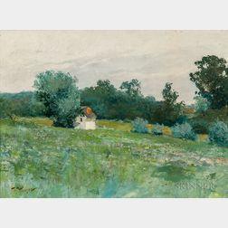 William Thomson (Pennsylvania, b. 1858)       Meadow Landscape.