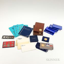 Group of Mostly Mint and Proof Sets