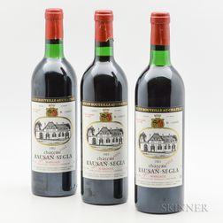 Chateau Rauzan Segla 1983, 3 bottles