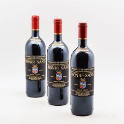Biondi Santi (Tenuta Greppo) Brunello di Montalcino Riserva 2004, 3 bottles