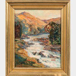 William J. Potter (American, 1883-1964)      Colorado Rapids
