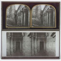 Twenty-One Stereo Positives of Constantinople, Egypt, Thebes, and Pompei