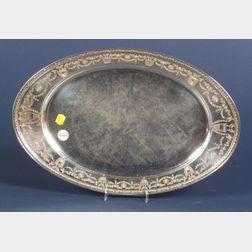 Whiting Manufacturing Co. Sterling Classical Revival Platter