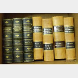 Two Sets of 19th Century Leather-bound Mechanical and Engineering Books