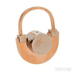 Artist-designed 18kt Gold Ring, Arnaldo Pomodoro, Gem Montebello