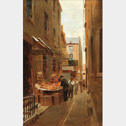 Charles Henry Turner (American, 1848-1908)      Change Avenue