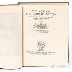 R.L. Hobson and A.L. Hetherington, The Art of the Chinese Potter