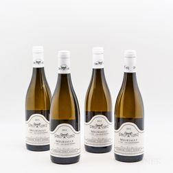 Chavy-Chouet Meursault Les Genevrieres 2015, 4 bottles