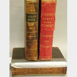 Three Godey's Lady's Books