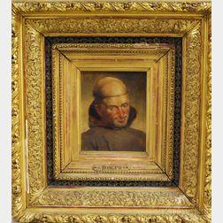 John Henry Dolph (American, 1835-1903)      Franciscan Monk.