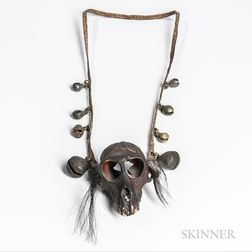 Naga Monkey Skull Necklace